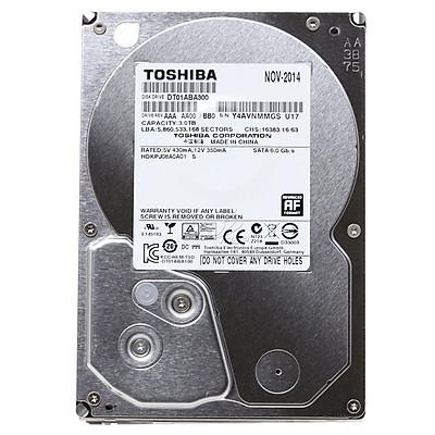 Ổ Cứng HDD Camera Toshiba 3TB/32MB/5700rpm/3.5 - DT01ABA300V - Hàng chính hãng