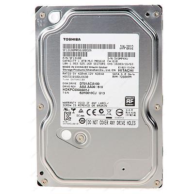Ổ Cứng HDD Toshiba 1TB/32MB/7200rpm/3.5 - HDWD110UZSVA - Hàng chính hãng