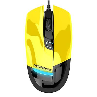 Chuột máy tính có dây Newmen G10 (Vàng) - Hàng Chính Hãng