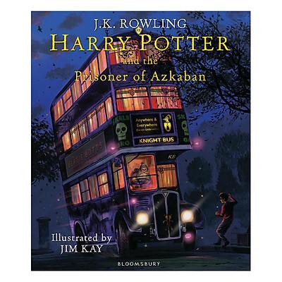 Harry Potter Part 3: Harry Potter And The Prisoner Of Azkaban (Hardback) - Illustrated Edition