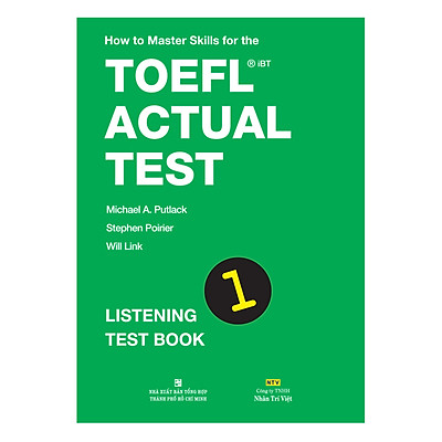 How To Master Skills For The TOEFL iBT Actual Test: Listening Test Book 1 (With MP3)