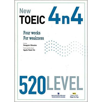 New TOEIC 4n4 520 Level (Kèm CD)