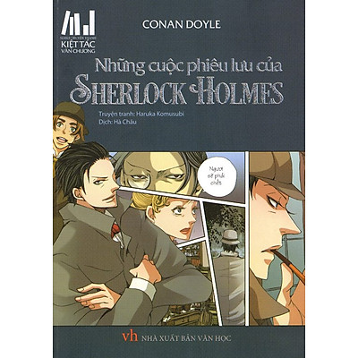 Series Truyện Tranh Kiệt Tác Văn Chương - Những Cuộc Phiêu Lưu Của  Sherlock Holmes