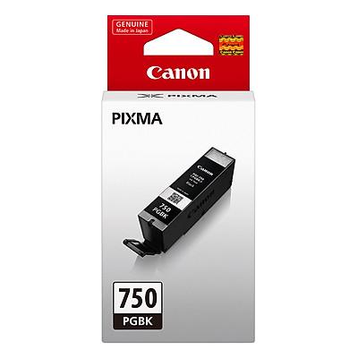 Mực In Canon PGI-750BK Cho Máy In Canon iP 7270, MG 6370, iX 6770, iP 8770 - Hàng Chính Hãng