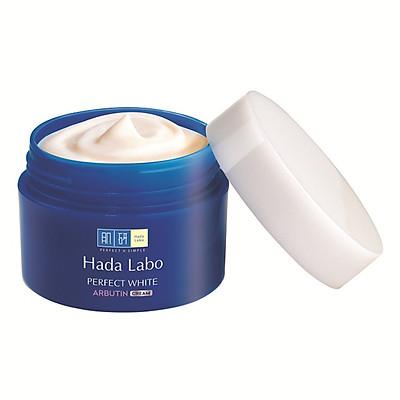 Kem Dưỡng Trắng Da Tối Ưu Hada Labo Perfect White Arbutin Cream (50g)