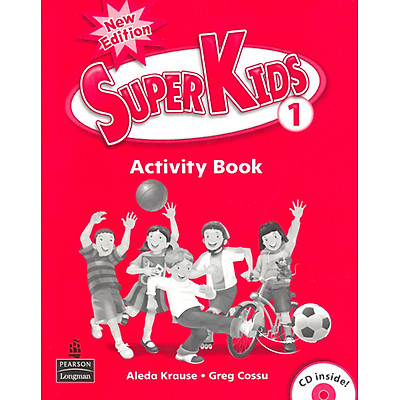 Superkids NE Activity Book 1 with CD
