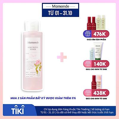 Nước Hoa Hồng Cung Cấp Độ Ẩm Mamonde Rose Water Toner (250ml) 110651204