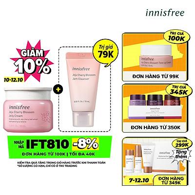 Gel Dưỡng Ẩm Sáng Da Từ Hoa Anh Đào Đảo Jeju Innisfree Cherry Blossom Jelly Cream 50Ml - 131171020