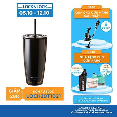 Ly nhựa 2 lớp LocknLock kèm ống hút HAP507 750ml