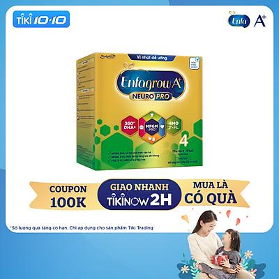 Sữa bột Enfagrow A+ NeuroPro 4 với 2'-FL HMO cho trẻ từ 2 – 6 tuổi – 2.2kg