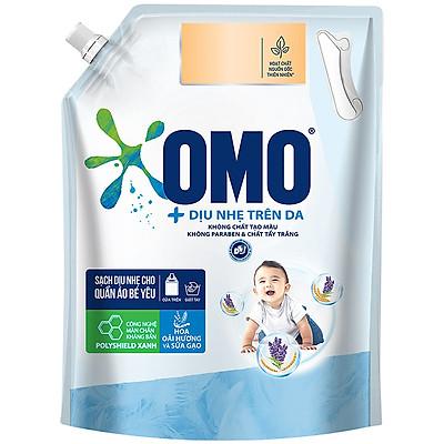 Túi nước giặt OMO Matic cho Quần áo bé yêu 2.9kg