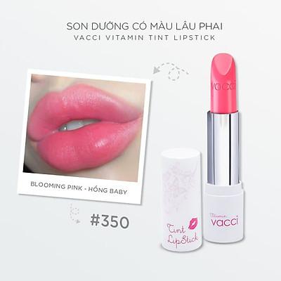 Son dưỡng có màu lâu phai cao cấp Vacci Vitamin Tint Lipstick