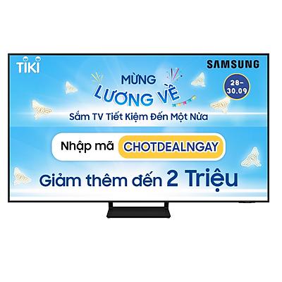 Smart Tivi QLED Samsung 4K 75 inch QA75Q60A Mới 2021