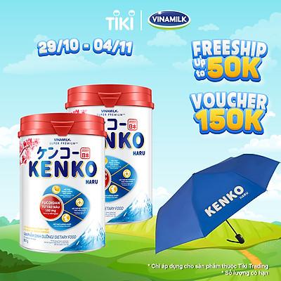 Sữa bột Vinamilk KenKo Haru dành cho người lớn - Hộp thiếc 350g