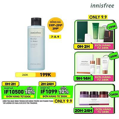 Nước Tẩy Trang Và Làm Sạch Da Innisfree My Makeup Cleanser Micellar Oil Water 200ml - 131171076