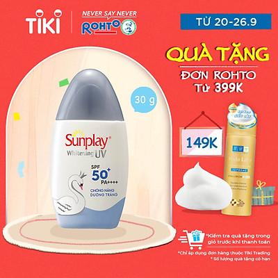 Sữa Chống Nắng Dưỡng Da Trắng Đẹp Sunplay Whitening UV SPF 50, PA++++ (30g)