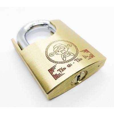 Ổ khóa chống cắt Thần Tài 60mm