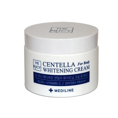 Kem Dưỡng Trắng Da, Chống Nắng Toàn Thân The Rucy Mediline Centella Whitening Cream For Body SPF 50+ PA+++ 100ml