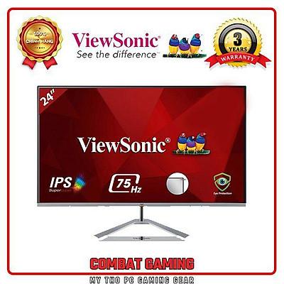 Màn Hình VIEWSONIC VX2476-SH FHD/IPS/75Hz - Hàng Chính Hãng