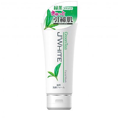Sữa Rửa Mặt Giảm Mụn, Trắng Sáng Da Tinh Chất Trà Xanh Matcha Nhật Bản J'WHITE 160G