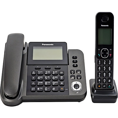 Điện thoại bàn không dây Panasonic KX-TGF320 - Hàng Chính Hãng