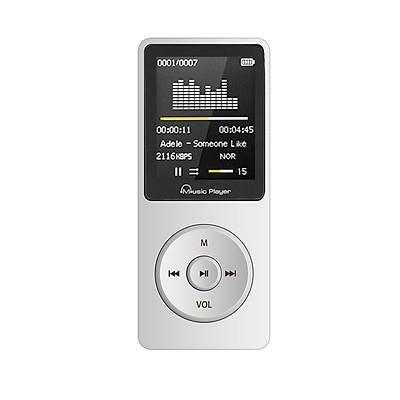 Máy Nghe Nhạc MP3 F8 Bộ Nhớ Trong Sẵn 8G Cao Cấp AZONE - Hàng Nhập Khẩu