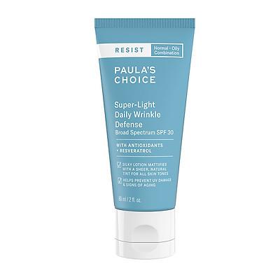 Kem dưỡng ngày chống nhăn siêu nhẹ Resist Super - Light Daily Wrinkle Defence SPF 30 60 ml