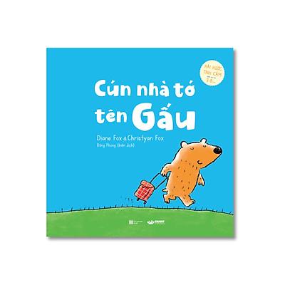 Cún nhà tớ tên Gấu - Tình cảm hài hước cho bé từ 3 tuổi