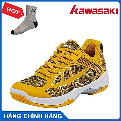 Giày cầu lông Kawasaki K358 hàng chính hãng - Tặng kèm tất thể thao Bendu cao cấp