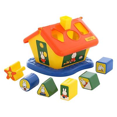 Bộ Đồ Chơi Thả Hình Ngôi Nhà Thỏ Miffy Polesie Toys