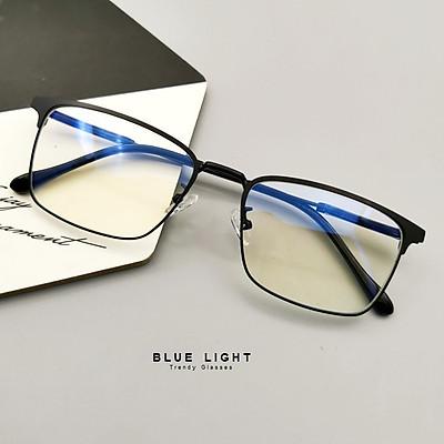 Kính Mắt Chống Tia UV Từ Điện Thoại, Máy Tính, Chống Mỏi Mắt Gọng Đen - BLUE LIGHT SHOP