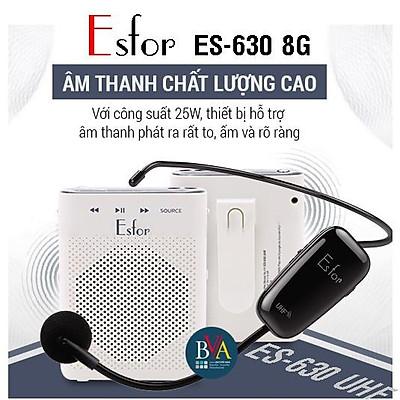 Máy trợ giảng Không dây ESFOR ES-630 8G Hàn Quốc - HÀNG CHÍNH HÃNG