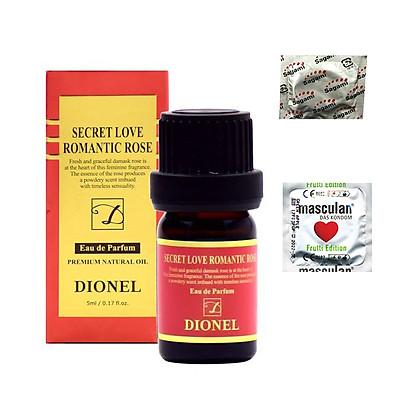 Nước Hoa Cô Bé Hàn Quốc Dionel Secret Love - Khử Mùi Vùng Kín - Tặng BCS Masculan Fruitti (1c) + Sagami Spearmint (1c) - Che Tên Sản Phẩm - SHOP ADAM