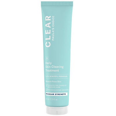 Kem chống mụn Benzoyl 2.5% Paula's Choice - Clear Regular Strength Daily Skin Clearing Treatment With 2.5% Benzoyl Peroxide (67ml)