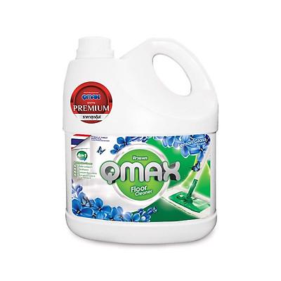 Nước lau sàn QMAX 3.5 lít hương hoa tươi mát cao cấp từ Thái Lan