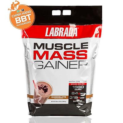[Chính Hãng BBT] Labrada Muscle Mass Gainer - Tăng Cân Tăng Cơ Vị Thơm Ngon (5.4kg)