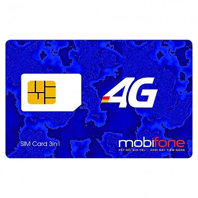 SIM 4G Mobifone F500N / MDT250A Miễn Phí 4G 1 Năm Không Cần Nạp Tiền