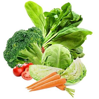 Combo 6kg - Rau củ quả tươi sạch, rau xanh Đà Lạt