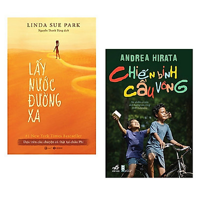 Combo tiểu thuyết kinh điển: Lấy Nước Đường Xa + Chiến Binh Cầu Vồng / Bộ sách văn học nhân văn bán chạy