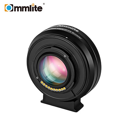 Commlite CM-EF-FX Booster 0.71x Focal Reducer Electronic Auto Focus Lens Mount Adapter Compatible with Canon EF/EF-S