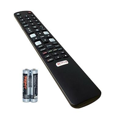 Remote Điều Khiển Dành Cho Smart TV, Ti Vi Thông Minh, Internet TV TCL Grade A+ (Kèm Pin AAA Maxell)