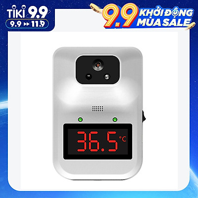 K3 Plus High Definition Display Industrial Thermometer Automatic Induction Infrared Non-Contact Wall Mounted Thermometer