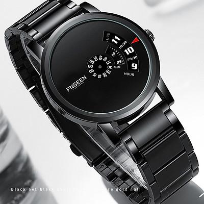 Đồng Hồ Nam FNGEEN FE230  mặt đồng hồ tròn, thiết kế đẹp mắt, sáng bóng với tính năng hiện đại cho phái mạnh tự tin, mạng mẽ và thời trang  Dây thép không gỉ thiết kế ôm tay