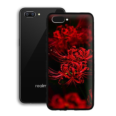 Ốp lưng mẫu đẹp cho điện thoại Realme C1 - Viền dẻo - 02093 0599 HOABINGAN10 - Hoa Bỉ Ngạn - Hàng Chính Hãng