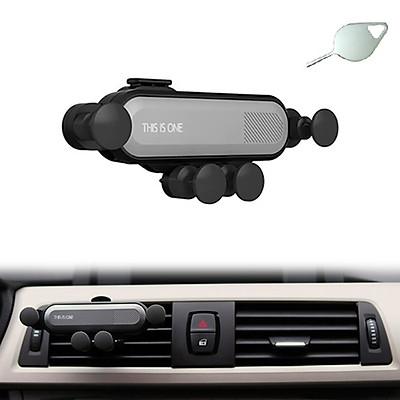 Giá đỡ điện thoại thông minh khe thông gió trên xe ô tô/ xe hơi tặng kèm que chọc sim