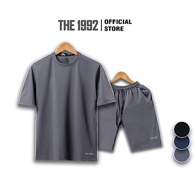 Bộ thể thao THE 1992 Đồ bộ nam kẻ sọc cao cấp