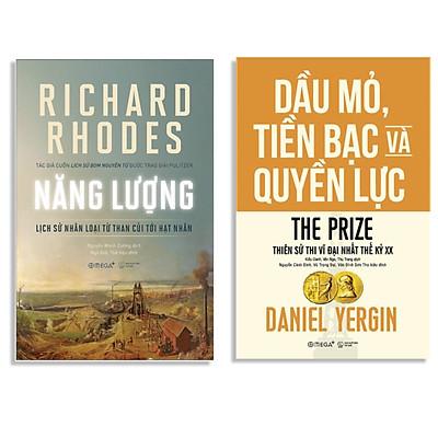 Combo Sách : Năng Lượng - Lịch Sử Nhân Loại Từ Than Củi Tới Hạt Nhân + Dầu Mỏ, Tiền Bạc Và Quyền Lực