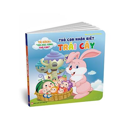 Tủ Sách Song Ngữ Vui Học Vùng Thỏ Con - Thỏ Con Nhận Biết Trái Cây