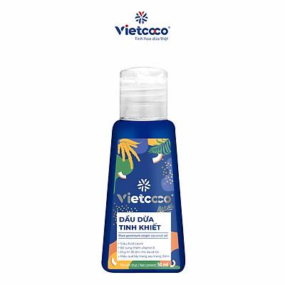 Dầu dừa tinh khiết mỹ phẩm Vietcoco 50ml