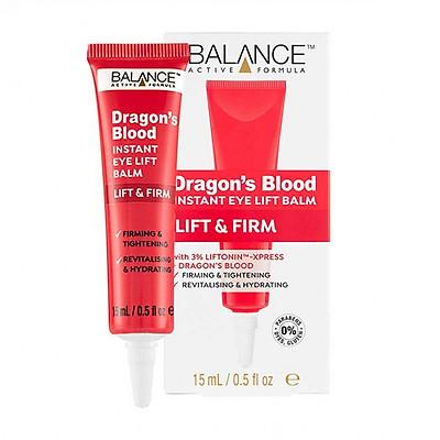 Tinh Chất Dưỡng Mắt, Giảm Quầng Thâm, Nếp Nhăn Balance Active Formula Dragon's Blood Eye Lift Balm 15ml